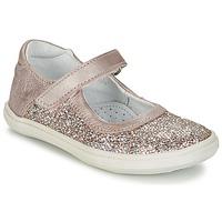 Παπούτσια Κορίτσι Μπαλαρίνες GBB PLACIDA ροζ / Gold