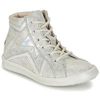 Παπούτσια Κορίτσι Ψηλά Sneakers GBB PRUNELLA Grey / Silver