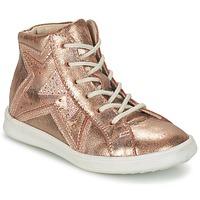 Παπούτσια Κορίτσι Ψηλά Sneakers GBB PRUNELLA Ροζ / Gold