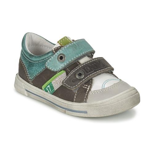 Παπούτσια Αγόρι Χαμηλά Sneakers GBB PHIL Grey / Green