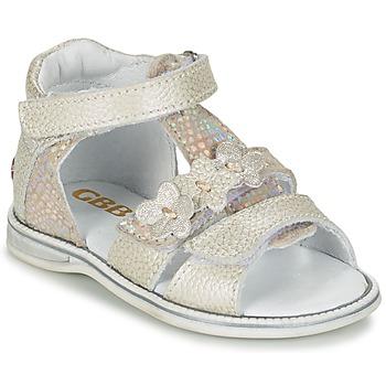 Παπούτσια Κορίτσι Σανδάλια / Πέδιλα GBB PING Grey / Silver