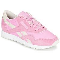 Παπούτσια Γυναίκα Χαμηλά Sneakers Reebok Classic CL NYLON X FACE Ροζ