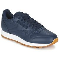 Παπούτσια Άνδρας Χαμηλά Sneakers Reebok Classic CL LEATHER PG μπλέ