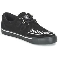 Παπούτσια Χαμηλά Sneakers TUK CREEPERS SNEAKERS Black / Άσπρο