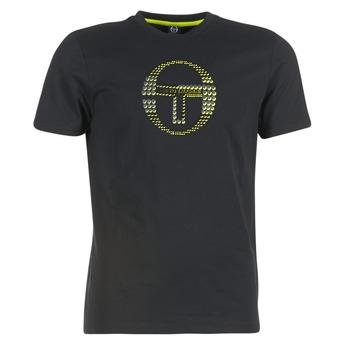 Υφασμάτινα Άνδρας T-shirt με κοντά μανίκια Sergio Tacchini DAVE TEE-SHIRT Black