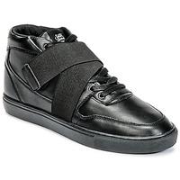 Παπούτσια Άνδρας Ψηλά Sneakers Sixth June NATION STRAP Black