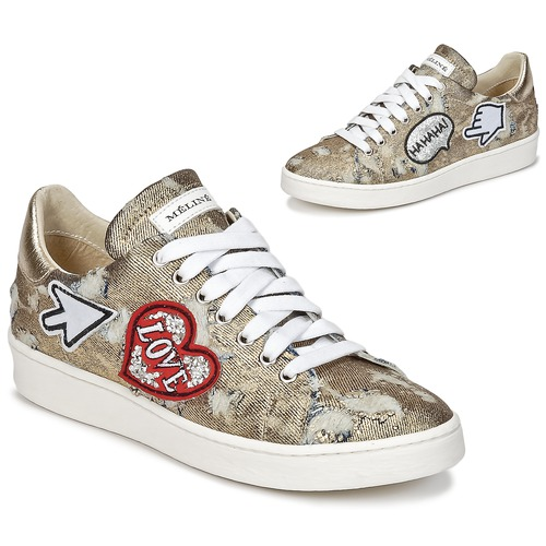 Παπούτσια Γυναίκα Χαμηλά Sneakers Meline QOLI Dore