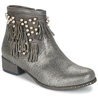 Παπούτσια Γυναίκα Μπότες Mimmu MOONSTROP Taupe / Silver