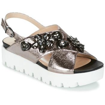 Παπούτσια Γυναίκα Σανδάλια / Πέδιλα Luciano Barachini TANITI Grey