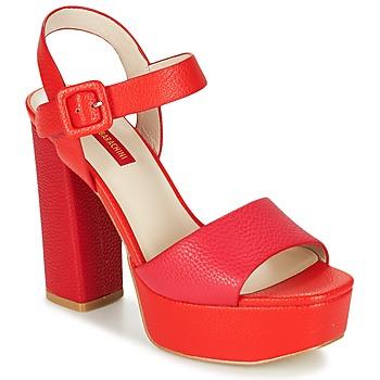 Παπούτσια Γυναίκα Σανδάλια / Πέδιλα Luciano Barachini TABINO Red