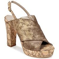 Παπούτσια Γυναίκα Τσόκαρα Now PALISSA BRONZE