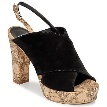 Παπούτσια Γυναίκα Τσόκαρα Now PAPIRON Black