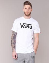 Υφασμάτινα Άνδρας T-shirt με κοντά μανίκια Vans VANS CLASSIC άσπρο