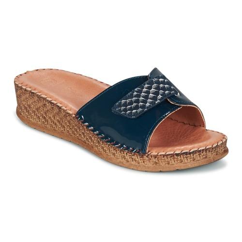 Παπούτσια Γυναίκα Σανδάλια / Πέδιλα Salamander FLORA μπλέ