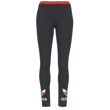 Υφασμάτινα Γυναίκα Κολάν adidas Originals TREFOIL LEGGING Black / ροζ