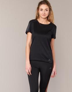 Υφασμάτινα Γυναίκα T-shirt με κοντά μανίκια adidas Performance RS SS TEE W Black