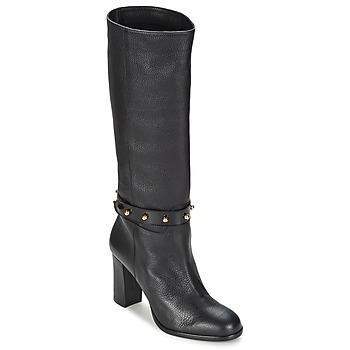 Παπούτσια Γυναίκα Μπότες για την πόλη Moschino Cheap & CHIC STUD Black