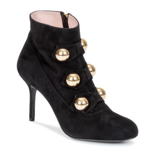 Παπούτσια Γυναίκα Μποτίνια Moschino Cheap & CHIC BOW Black