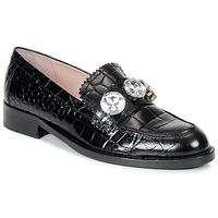 Παπούτσια Γυναίκα Μοκασσίνια Moschino Cheap & CHIC STONES Black
