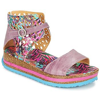 Παπούτσια Γυναίκα Σανδάλια / Πέδιλα Think REMIL Ροζ / Multicolore