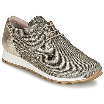 Παπούτσια Γυναίκα Χαμηλά Sneakers Tosca Blu DERZE Silver / Gold