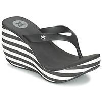 Παπούτσια Γυναίκα Σαγιονάρες Zaxy LIPSTICK V Black / άσπρο