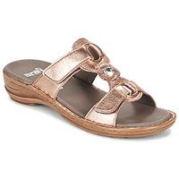 Παπούτσια Γυναίκα Τσόκαρα Ara AGLIMELLE Gold / ροζ
