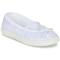 Παπούτσια Κορίτσι Μπαλαρίνες Chipie SALSABA Glitter / Άσπρο