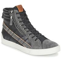 Παπούτσια Άνδρας Ψηλά Sneakers Diesel D-STRING PLUS Black / Grey