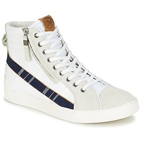 Παπούτσια Άνδρας Ψηλά Sneakers Diesel D-STRING PLUS Άσπρο / Μπλέ