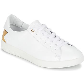 Παπούτσια Γυναίκα Χαμηλά Sneakers Diesel S-OLSTICE LOW W άσπρο / Gold