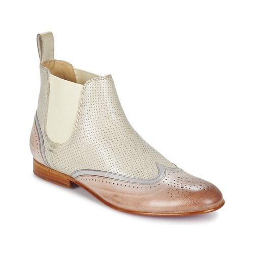 Παπούτσια Γυναίκα Μπότες Melvin & Hamilton SALLY 19 άσπρο