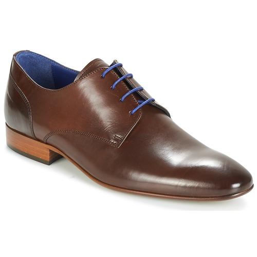 Παπούτσια Άνδρας Derby Azzaro DELIGO Brown