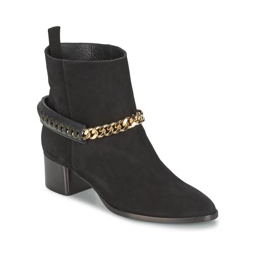 Παπούτσια Γυναίκα Μποτίνια Roberto Cavalli YPS542-PC519-05051 Black