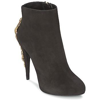Παπούτσια Γυναίκα Μποτίνια Roberto Cavalli YPS564-PC001-05051 Black