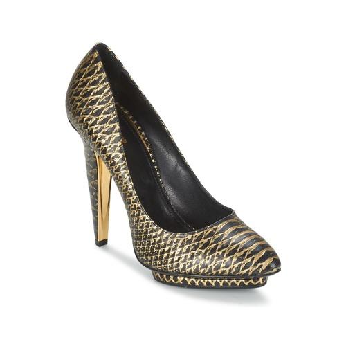 Παπούτσια Γυναίκα Γόβες Roberto Cavalli YDS622-UC168-D0007 Black / Dore