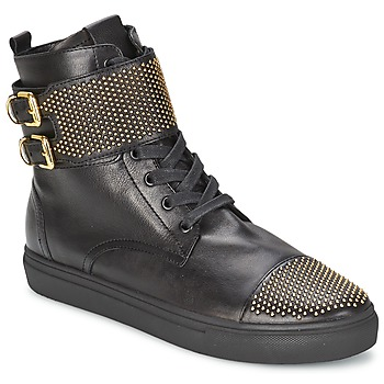 Παπούτσια Γυναίκα Ψηλά Sneakers Kennel + Schmenger URZI Black / Dore