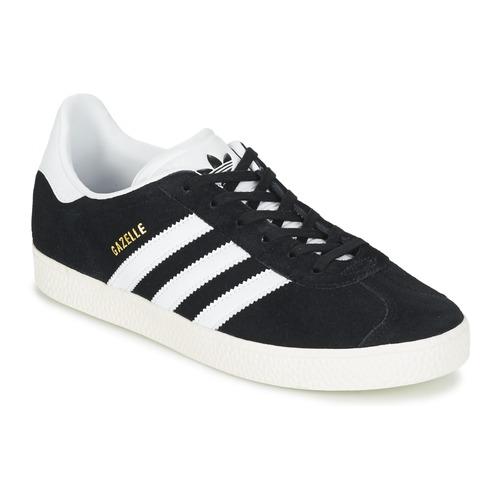 Παπούτσια Παιδί Χαμηλά Sneakers adidas Originals GAZELLE J Black