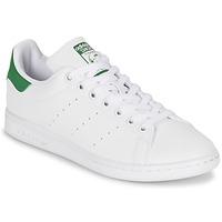 Παπούτσια Γυναίκα Χαμηλά Sneakers adidas Originals STAN SMITH W άσπρο