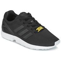 Παπούτσια Παιδί Χαμηλά Sneakers adidas Originals ZX FLUX J Black