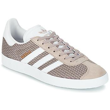 Παπούτσια Γυναίκα Χαμηλά Sneakers adidas Originals GAZELLE W Grey