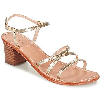 Παπούτσια Γυναίκα Σανδάλια / Πέδιλα Mellow Yellow BALOUNA Gold