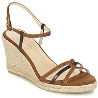 Παπούτσια Γυναίκα Σανδάλια / Πέδιλα Mellow Yellow BERLINA Brown