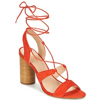 Παπούτσια Γυναίκα Σανδάλια / Πέδιλα Mellow Yellow BRUNE Orange
