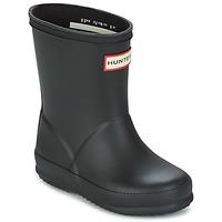 Παπούτσια Παιδί Μπότες βροχής Hunter KIDS FIRST CLASSIC Black