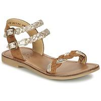 Παπούτσια Κορίτσι Σανδάλια / Πέδιλα Shwik LAZAR WOWO CAMEL / Gold