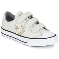 Παπούτσια Αγόρι Χαμηλά Sneakers Converse STAR PLAYER 3V TEXTILE OX ECRU / KAKI