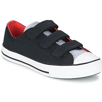 Παπούτσια Αγόρι Χαμηλά Sneakers Converse CHUCK TAYLOR ALL STAR 3V SPRING FUNDAMENTALS OX Black / Μπλέ / Άσπρο