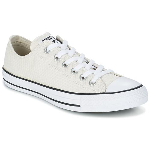 Παπούτσια Γυναίκα Χαμηλά Sneakers Converse CHUCK TAYLOR ALL STAR SNAKE WOVEN OX Ecru