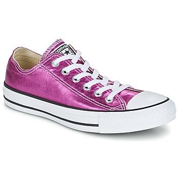 Παπούτσια Γυναίκα Χαμηλά Sneakers Converse CHUCK TAYLOR ALL STAR SEASONAL METALLICS OX Ροζ / Μεταλικό